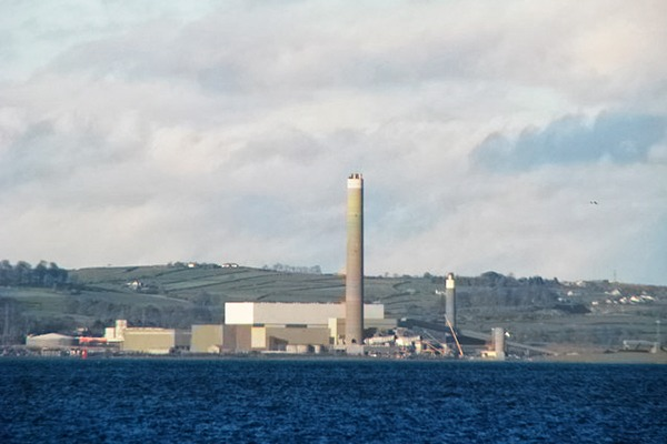 AES' Kilroot power station in County Antrim. Photograph: Rossographer/Geograph.org.uk