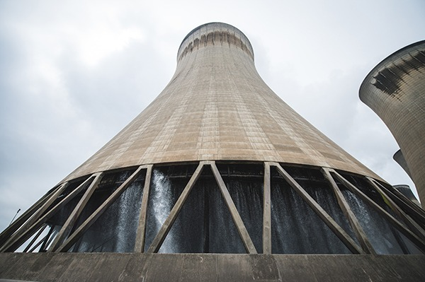 One of Drax's 12 cooling towers. Photograph: Drax