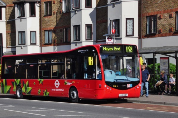 All buses in Greater London would be zero-emission within two decades, under the mayor's plan. Photograph: Lee's bus pics