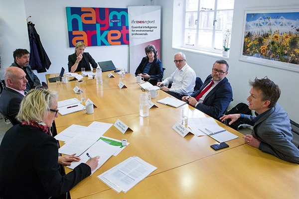 Despite political and funding uncertainty affecting several large infrastructure projects, consultants at ENDS 2017 roundtable were upbeat about the future
