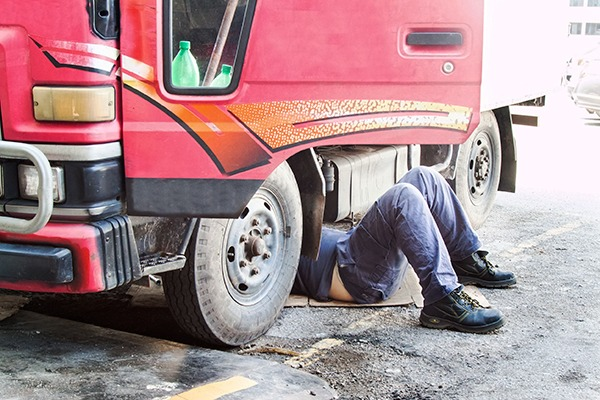 The roadside inspections will establish how common illegal modifications to lorries are. Photograph: 123RF