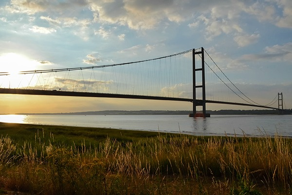 The Humber Bridge. Photograph: Scott Lyons/123RF