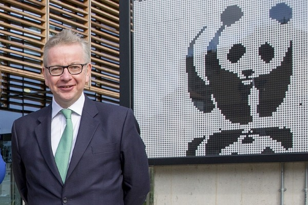 Michael Gove has ambitious plans - but the speech was short on details. Photograph: Greg Armfield/WWF