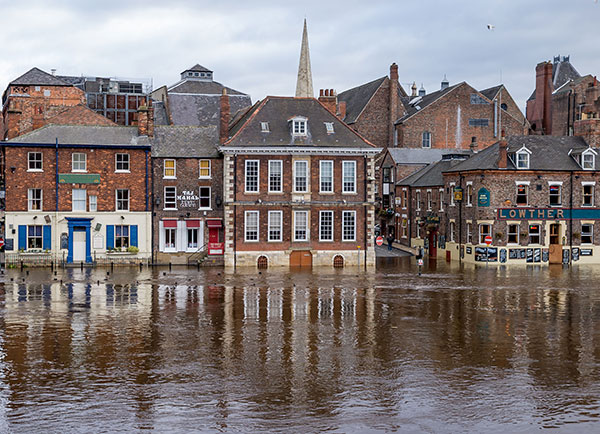 The UK looks set to experience more intense bouts of rainfall. Photograph: 123RF