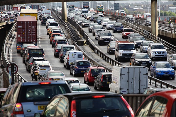The motor industry's failure to make engines that meet emissions standards in the real world has been blamed for the UK exceeding EU limits. Photograph: Kenny Williamson/Alamy Stock Photo
