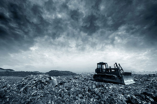Demand for landfill in London is continuing to fall with more being burned for EfW. Photograph: Gui Yongnian/123RF
