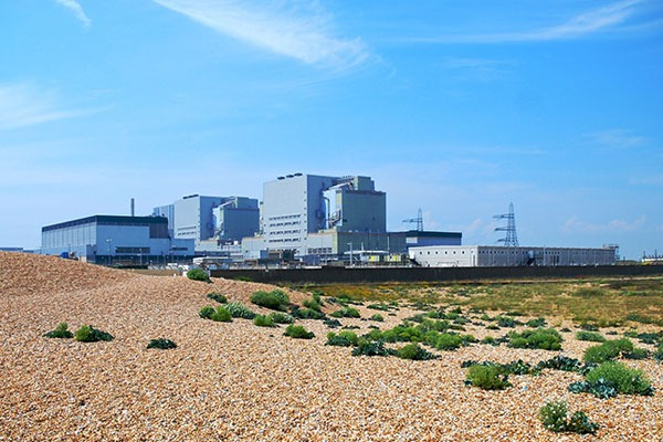 Dungeness 'A' power station in Kent