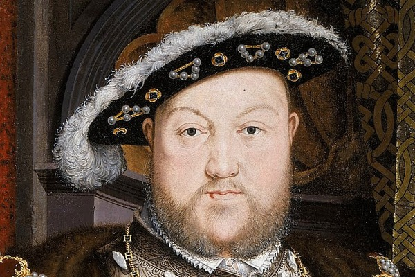 Portrait of Henry VIII by Hans Holbein the Younger. Photograph: Google Art Project