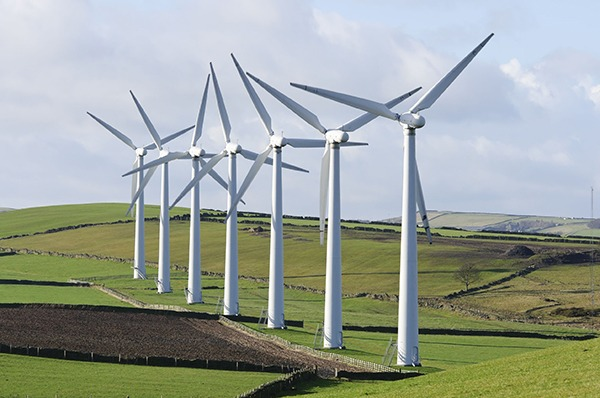 Royd Moor wind farm in Sheffield. Photograph: Steve Meese/123RF