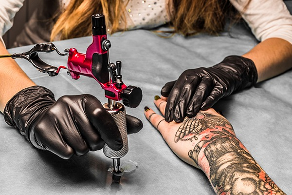 Tattoo inks are poorly regulated in the UK and much of the EU. Photograph: Ivan Reka/123RF