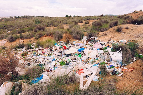 There were 274 high risk illegal waste sites in the first quarter of the 2017 financial year. Photograph: Pilens/123RF