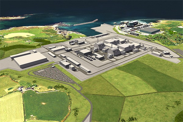 Hitachi expects the 2.7 gigawatt power plant to be in operation by the mid-2020s. Photograph: Hitachi