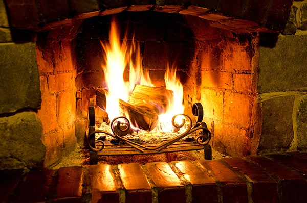 Open wood fires are an increasingly serious source of air pollution. Photograph: 123RF