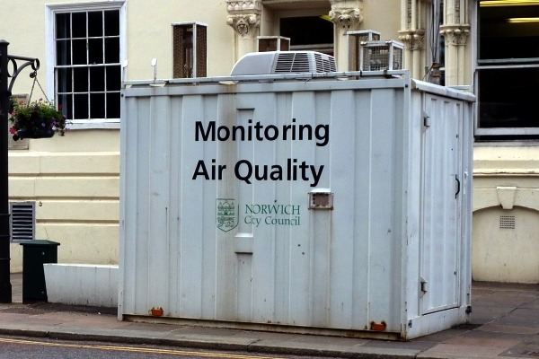 Cash available for measures in air quality management areas has been cut. Photograph: Gareth Simkins