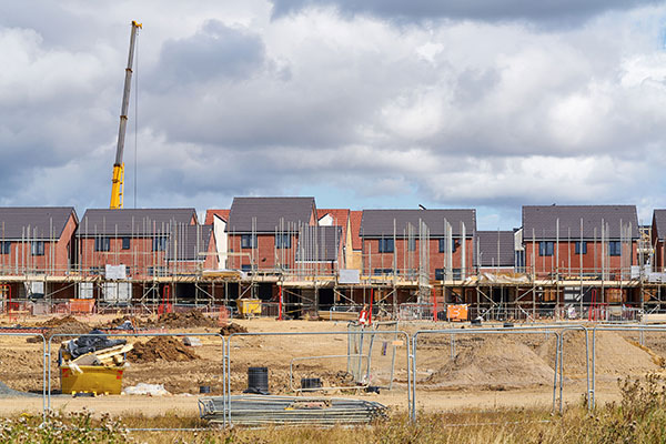 Housebuilding could be greener, says BEIS. Photograph: Duncan Andison/123RF