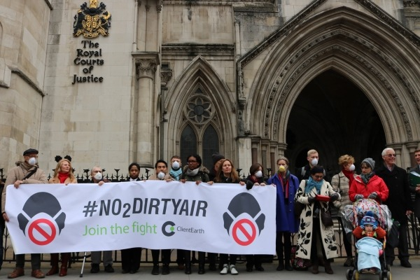 The High Court will scrutinise the government's NO2 plan yet again in February. Photograph: ClientEarth