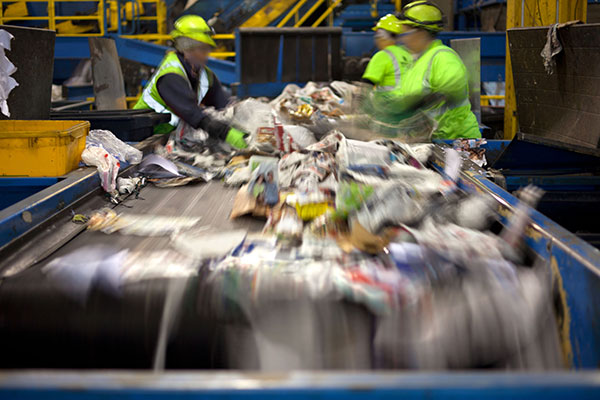 Recycling: warning that Brexit could increase waste going to landfill. Photo: hroephoto/123RF