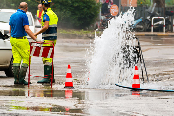 Leaks from water company pipes increased last year. Photograph: GiorgioRossi73/123RF