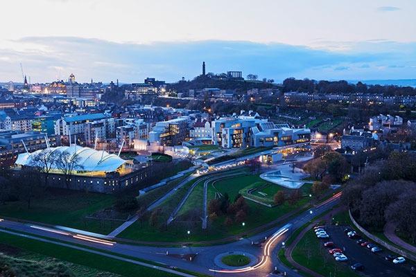 Edinburgh skyline. Photograph: Karol Kozlowski/123RF