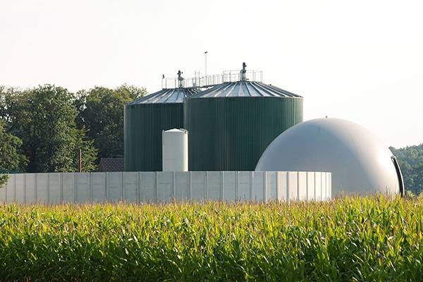 Biogas plant. Photograph: Dirk Grasse/123RF