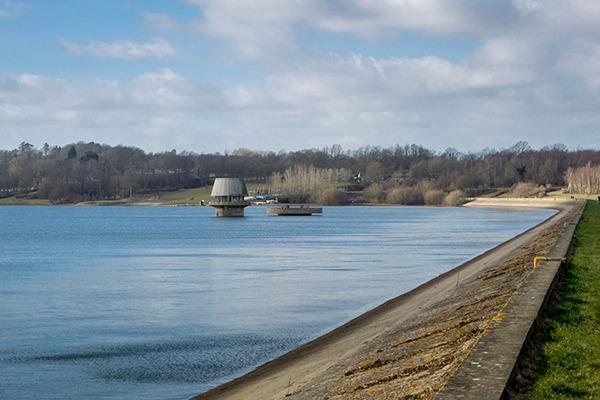 Bewl reservoir in High Weald, Kent. Photograph: Sue Martin/123RF