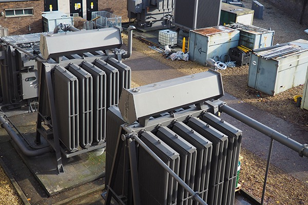 Electricity substation. Photograph: Andrew Oxley/123RF