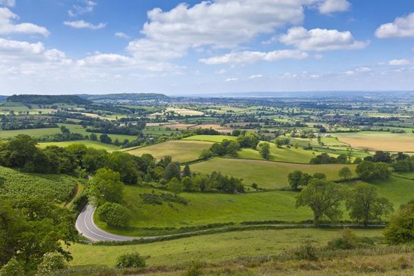Cotswolds rural landscape. Photograph: David Ronald Head/123RF