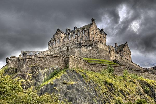 Edinburgh Castle. Photograph: Jan Kranendonk/123RF