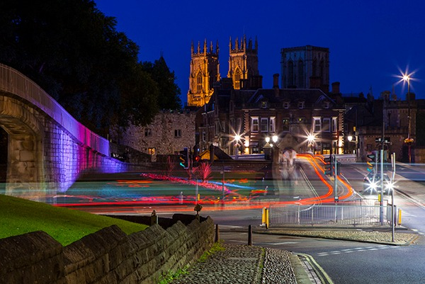 York Minster at night. Photograph: Chris Dorney/123RF