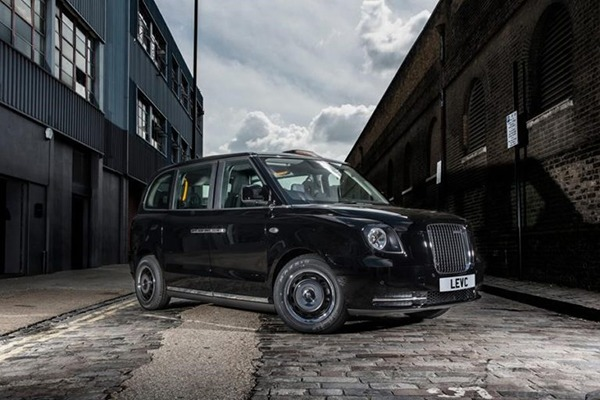 Electric taxi. Photograph: LEVC