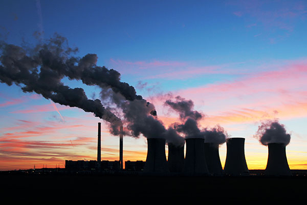 Coal-fired power station. Photograph: kodda/123RF