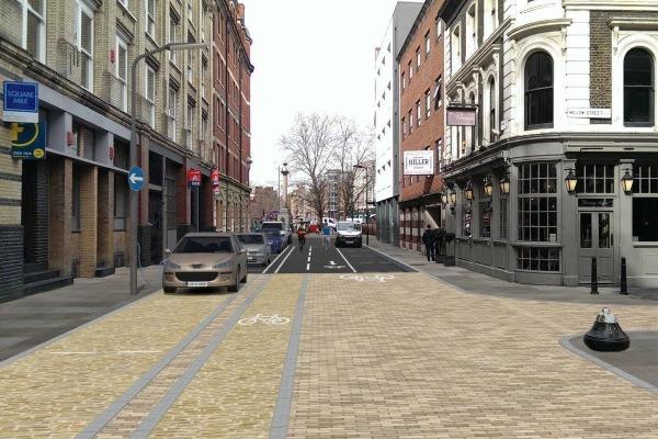A low-emission neighbourhood in Hackney
