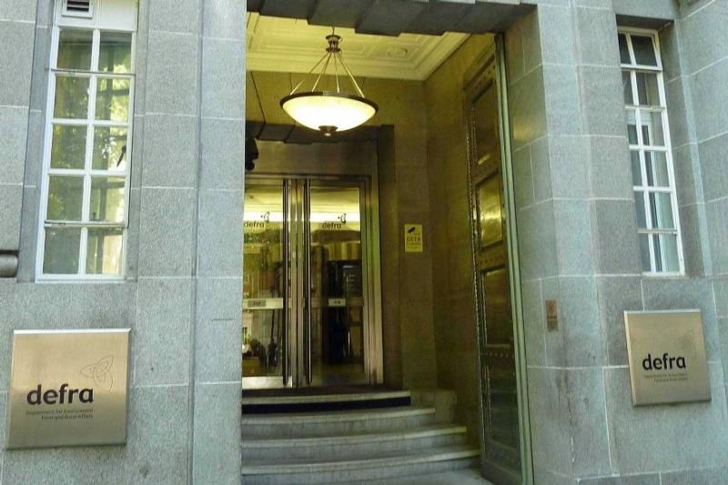 DEFRA office front door