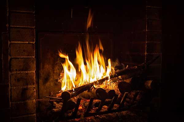 Fireplace. Photograph: Elena Shchipkova/123RF