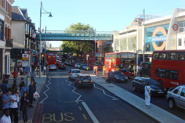 Brixton Road, Lambeth. Photograph: Oxyman/Geograph