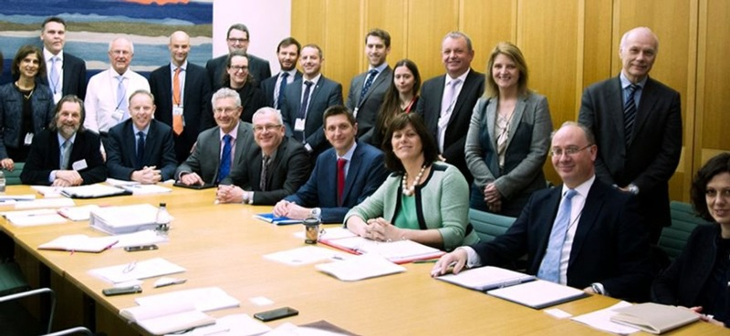 Council on Carbon Capture Utilization and Storage meeting. Photograph: BEIS