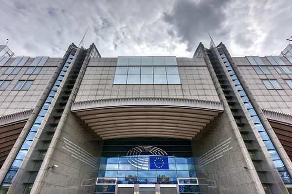European Parliament building, Brussels. Photograph: Felix Lipov/123RF