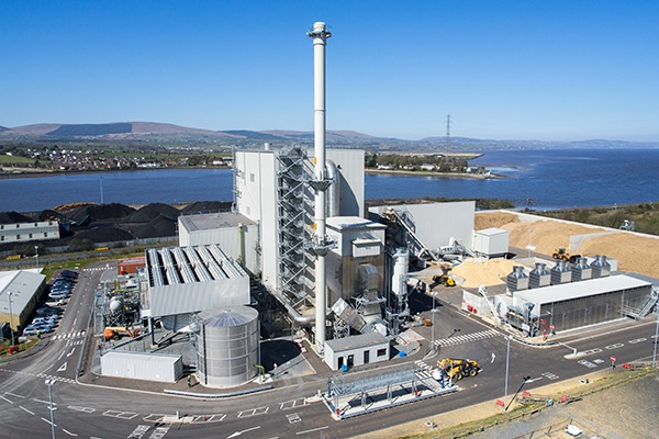 Bioenergy Infrastructure Group's Evermore plant