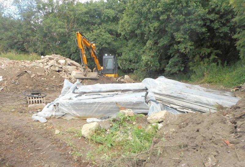 ART Demolition site
