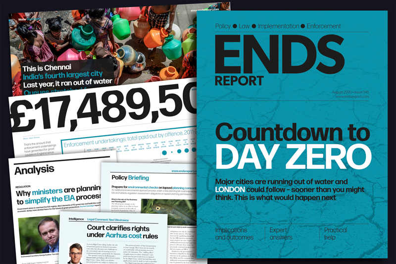 ENDS Report issue 545, August 2020