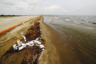 Clean-up of the Gulf of Mexico oil spill