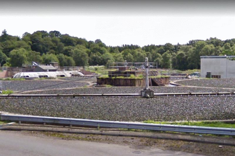 Brechin sewage treatment works
