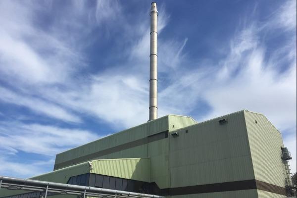 Brighouse sewage incinerator