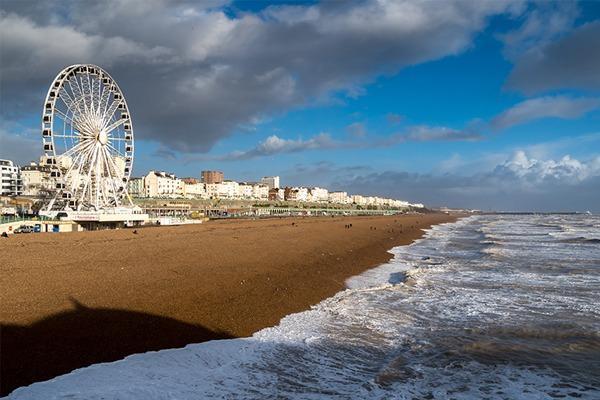 Brighton beachfront