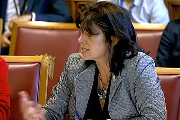 Claire Perry at the House of Lords EU Energy and Environment Sub-Committee