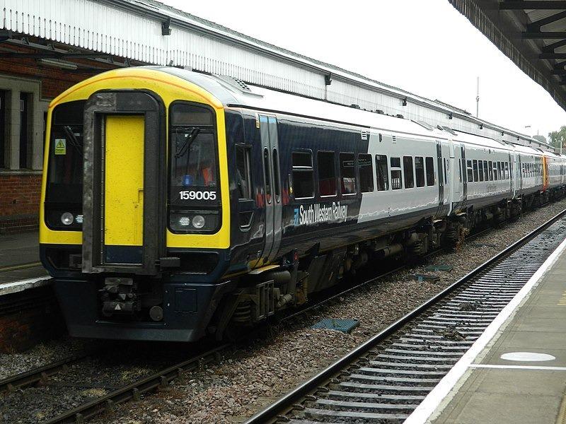 Class 159 train