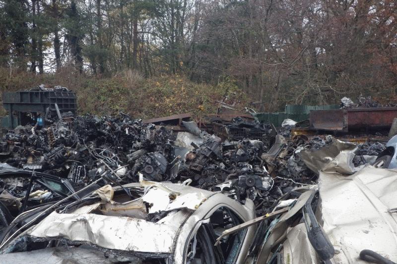Clywd Breakers' scrapyard