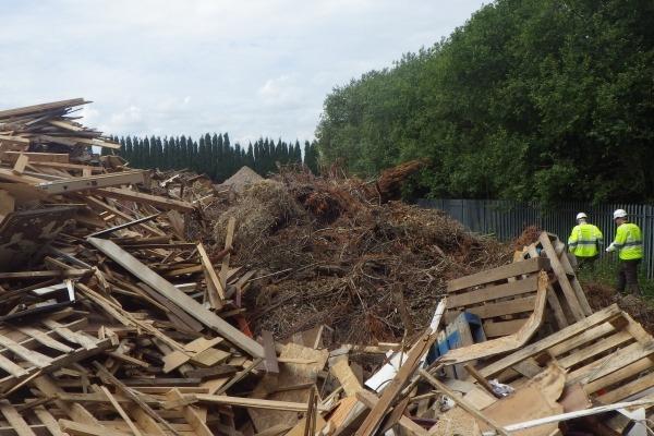 Stephen Wayne Morgan's waste site in Walsall