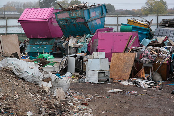 Waste dump in Cambridgeshire