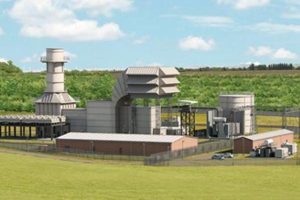 Drax Power's Millbrook power station